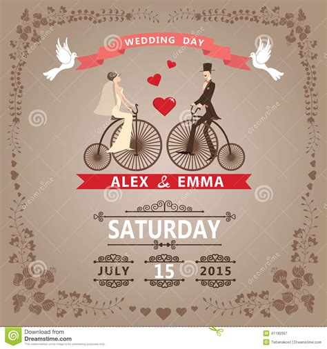 free vintage wedding invitation card template vintage wedding invitation templates theruntime
