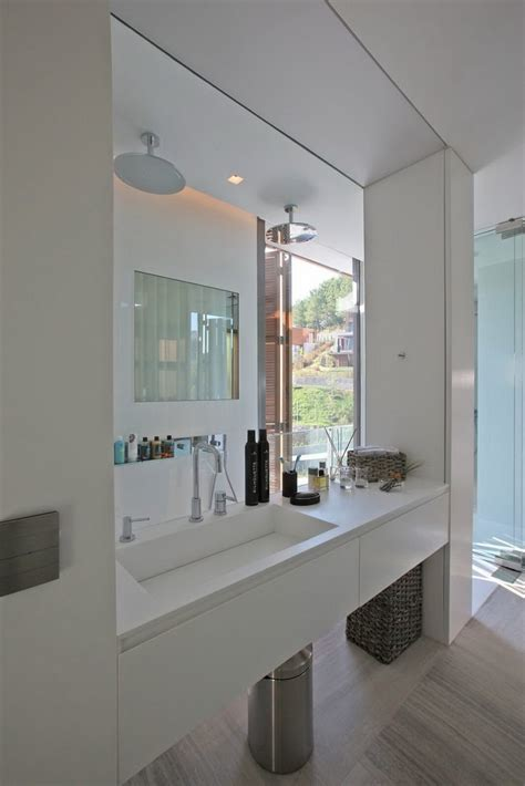 Glass Wall Shower by Glass Wall Bathroom Shower Interior Design Ideas