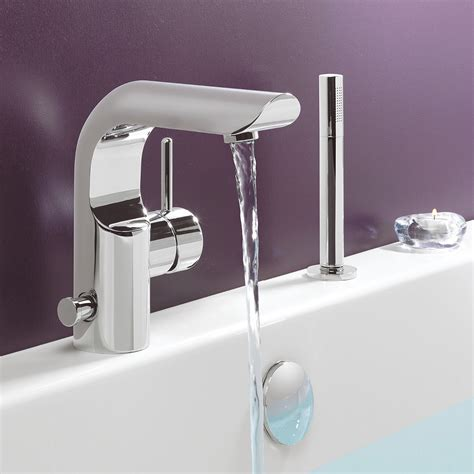 crosswater elite bath shower mixer tap with kit el410dc