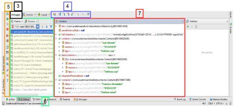 android studio debug funcionalidades en android studio editor de layout selecci 243 n de colores para dise 241 o y