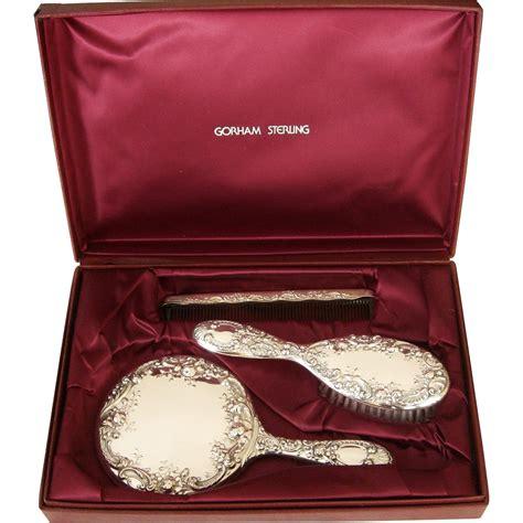 gorham sterling silver dresser set gorham sterling silver vanity dresser set case mirror