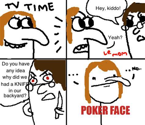 pokerface meme  vodevilz  deviantart