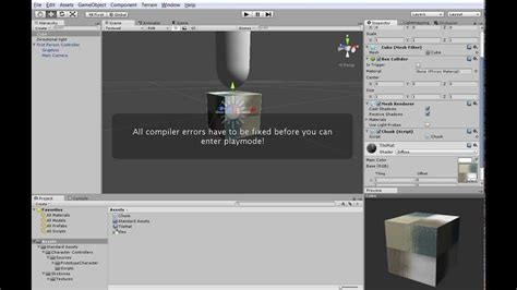 unity tutorial minecraft tutorial minecraft in unity 1 mesh generation youtube