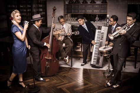swing band swing band for events abu dhabi hire jazz band