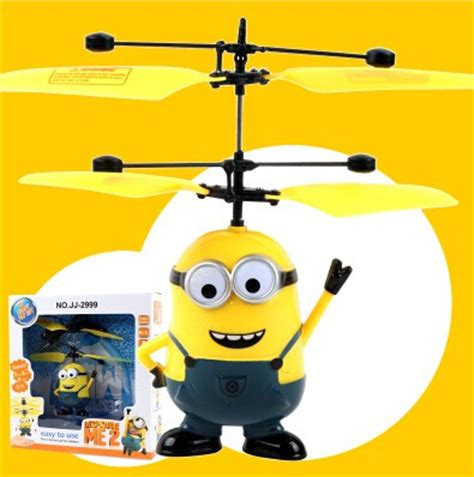 Helicopter Sensor Tangan Helicopter Mini Sensor new rc helicopter despicable me 2 sensor flying minion shatter resistant remote