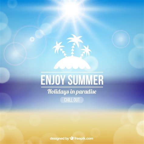 Enjoy Summer enjoy summer background vector free