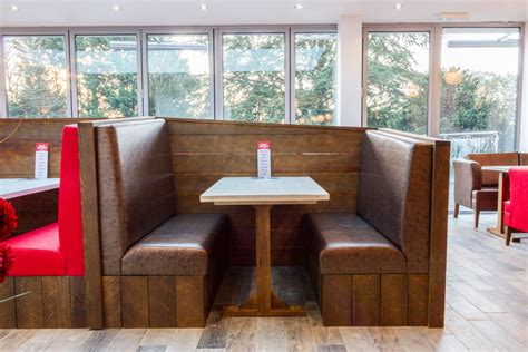 Banquette Booths by Banquette Seating And Fixed Booth Seating