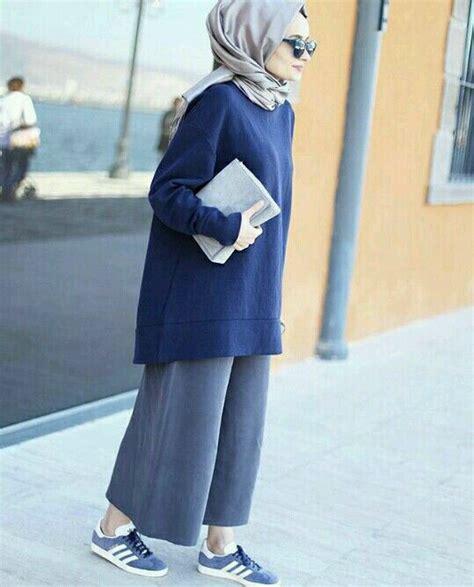 Set 2 In 1 Jumpsuit Pakaian Casual Wanita Modern Modis Trendy bleu fille image 5002277 par sudemir sur favim fr