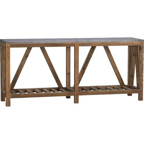 console coffee table bluestone console table