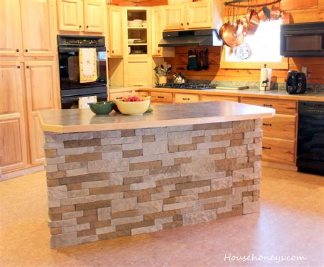 Stone Kitchen Island by Airstone Island Fox Den Rd