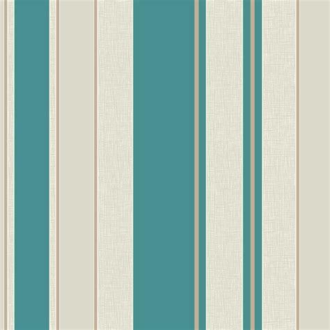 Fine decor cameo stripe wallpaper teal cream fd30695 wallpaper from i love wallpaper uk