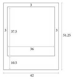 photo booth layout size polaroid dimensions google search wedding