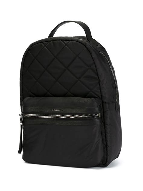 Quilted Backpacks For by Moncler Quilted Backpack In Black For Lyst