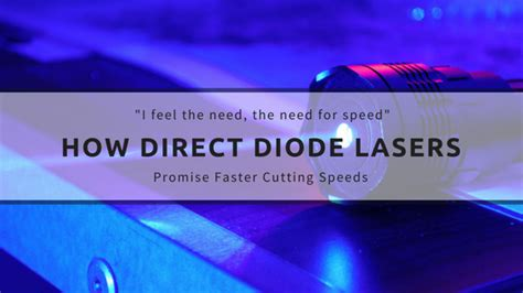 laser cutting with direct diode laser the hype about direct diode lasers speed is a laser cutting changer