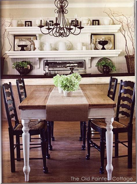 Dining Room Shelving Cottagestyle6 Kitchen Dining Room Ideas Pinterest