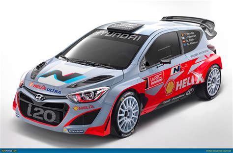 hyundai motor sports ausmotive 187 hyundai motorsport launches i20 wrc car