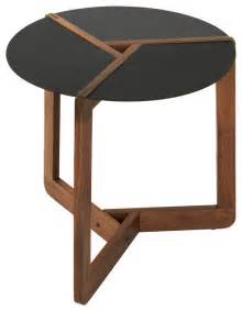 dot pi small side table walnut modern side tables