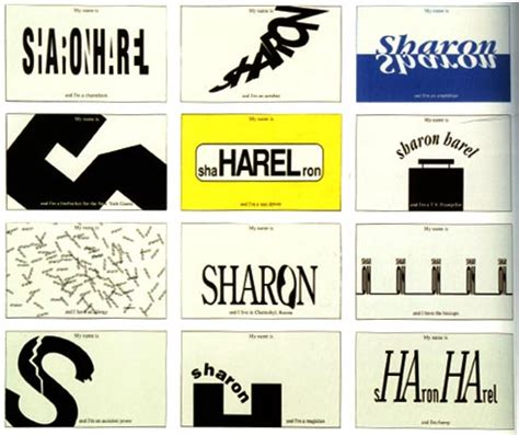 typography exercises more exles typographic portrait
