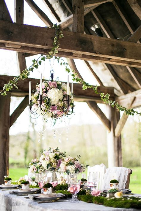 fairytale wedding inspiration in with a whimsical woodland theme