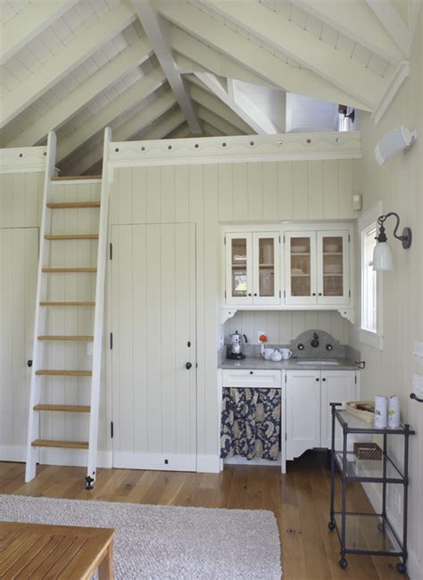 small house with loft tips for transitioning to a tiny house