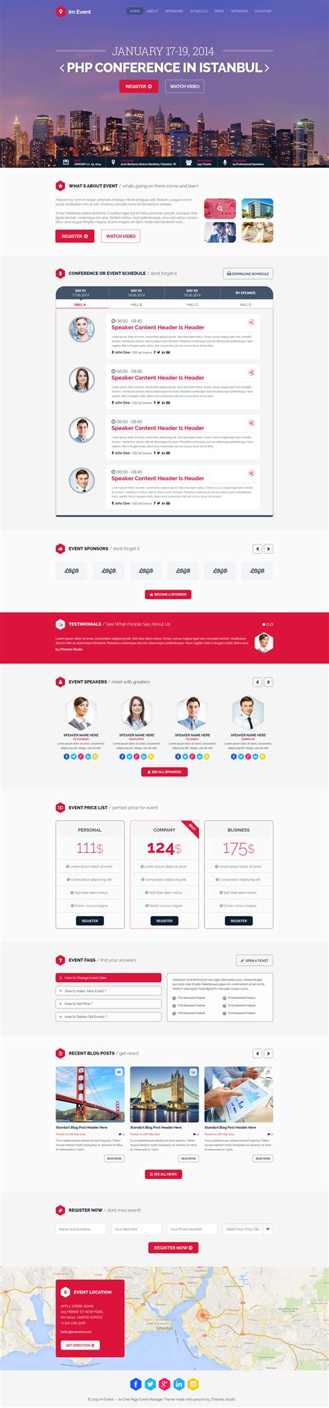 Event One Sheet Template by Im Event One Page Template Review