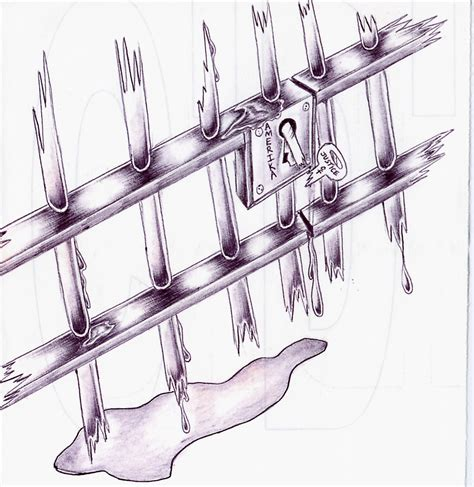 prison bars drawing www pixshark com images galleries