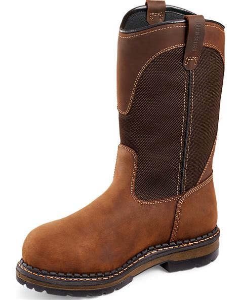 wing pull on work boots setter by wing shoes s ramsey pull on work