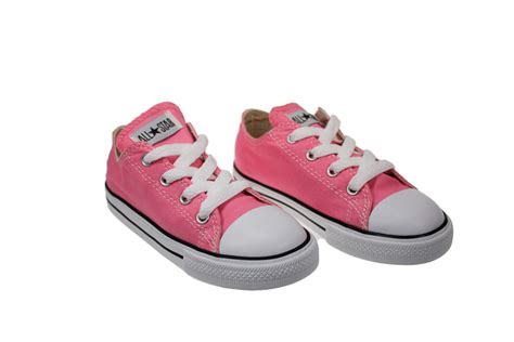 white sneakers for toddler converse toddler pink white canvas trainers sneakers