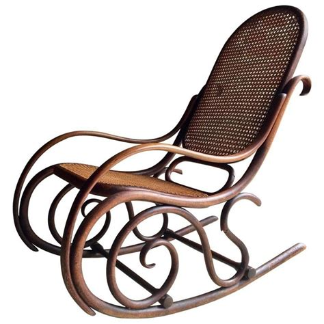 antique thonet rocking chair sale at 1stdibs antique thonet chair bentwood rocker 19th