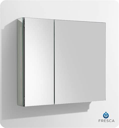 30 inch wide medicine fresca 30 quot wide bathroom medicine cabinet w mirrors ebay