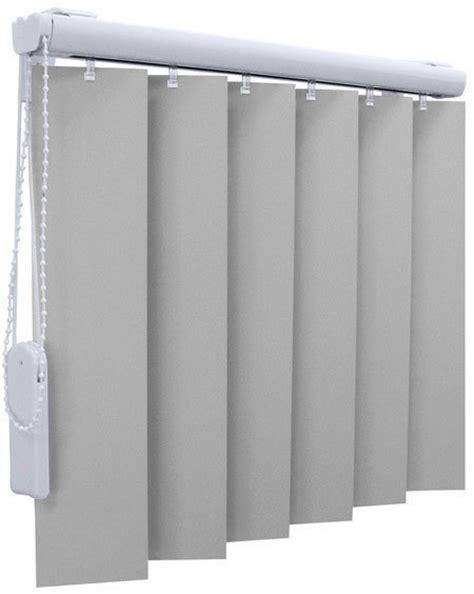 verticale lamellen makro verticale lamellen gordijnen met kunststof lamellen op