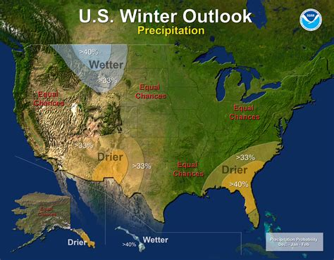 noaa maps drought likely to persist or develop in the southwest southeastern u s this winter