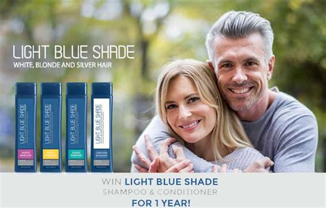 light blue shade conditioner win light blue shade shoo and conditioner for 1 year