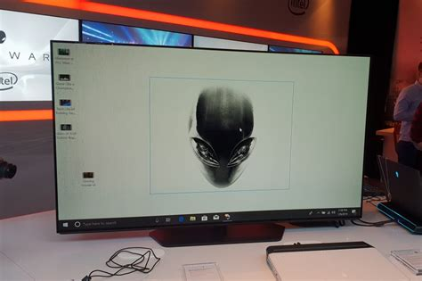 alienware 55 inch 4k oled monitor look trusted reviews