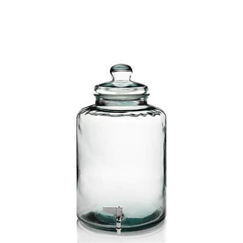 damigiane con rubinetto damigiana cilindrica con rubinetto in vetro 100 riciclato