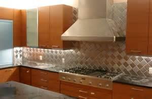 4 quot x 4 quot brushed stainless steel metal backsplash tiles harlequin alternating grain orientation