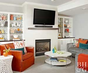 family room battle fireplace vs flat screen tv tvs over fireplaces