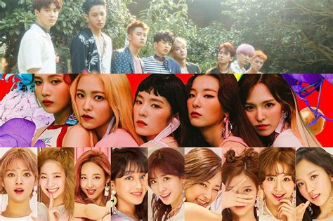 exo and twice exo tops brand value list for all singers for july red