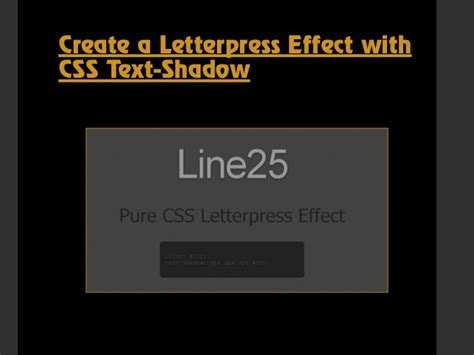 typography tutorial css css text effects and typography tips