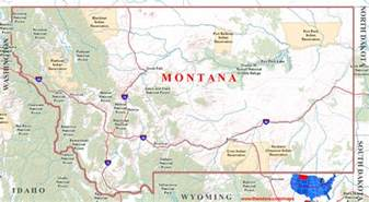 Maps Of Montana by Pics Photos Map Of Montana State