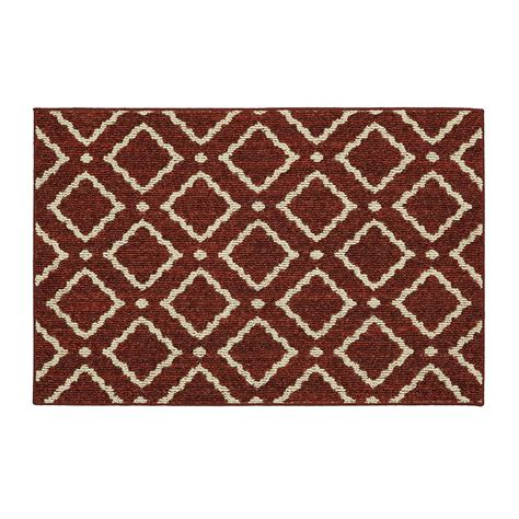 montana rugs mohawk home montana garnet 2 ft 6 in x 3 ft 9 in scatter rug 547479 the home depot