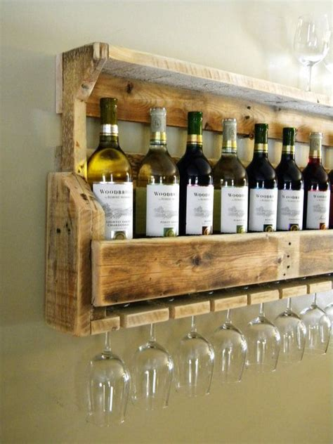 Wood Pallet Wine Rack by Gift Rustic Wine Rack Reclaimed Wood Rustic