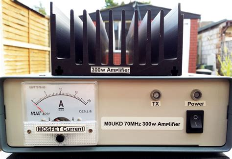 transistor linear lifier two years in the 70mhz 300w lifier m0ukd radio