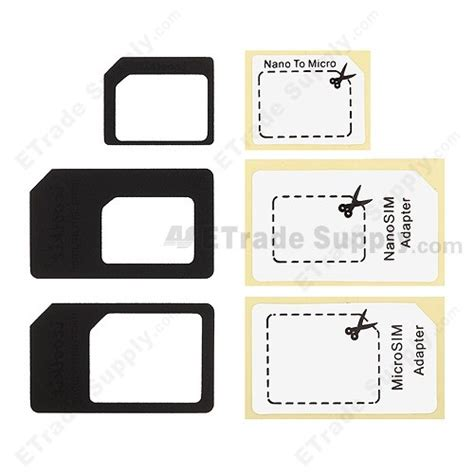 Apple Iphone 5 Micro Sim Card Adapter Etrade Supply