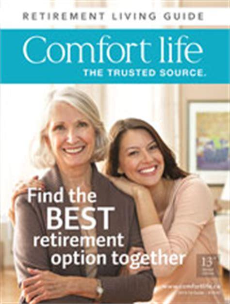 senior comfort guide retirement homes residences communities seniors housing