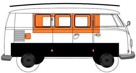 volkswagen bus clipart vw van clipart 57