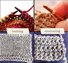 difference in crochet and knitting the difference between knitting and crochet craft