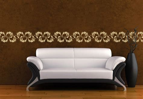 Wall Art Sticker border lindo wall decal awesome border home decor