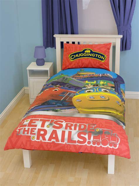 chuggington bedding chuggington duvet cover and pillowcase review compare