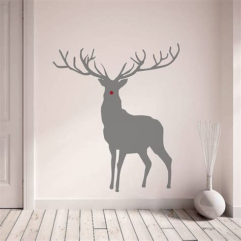 Wall Sticker In The Park stag and deer vinyl wall stickers by oakdene designs notonthehighstreet